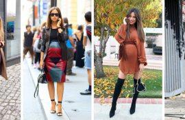 Мода для вагітних 2020-2021: фасони на прохолодний сезон