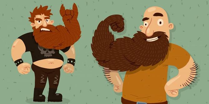 поздравления с днем бороды