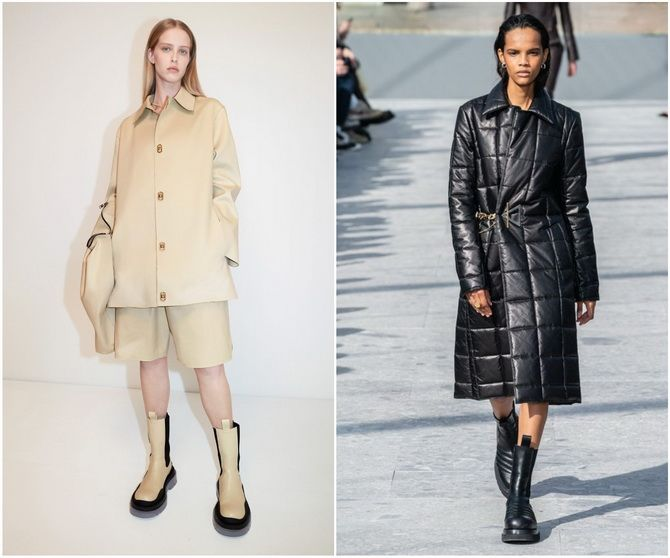 С чем носить ботинки челси – модный обувной тренд 2020-2021 10
