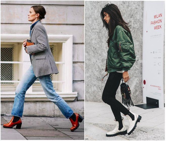 С чем носить ботинки челси – модный обувной тренд 2020-2021 12