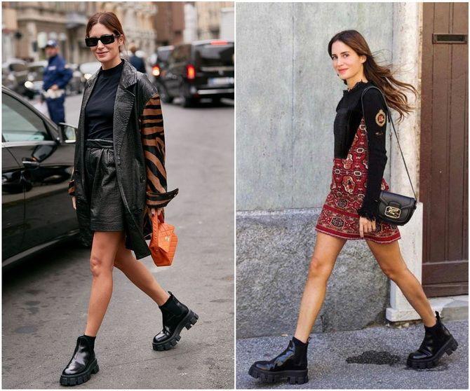 С чем носить ботинки челси – модный обувной тренд 2020-2021 13