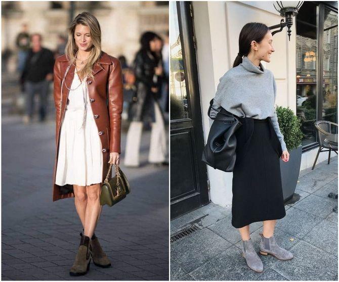 С чем носить ботинки челси – модный обувной тренд 2020-2021 14