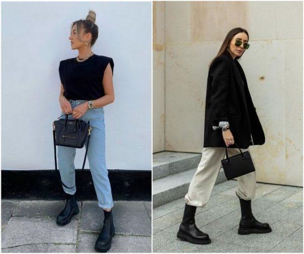 С чем носить ботинки челси – модный обувной тренд 2020-2021 15