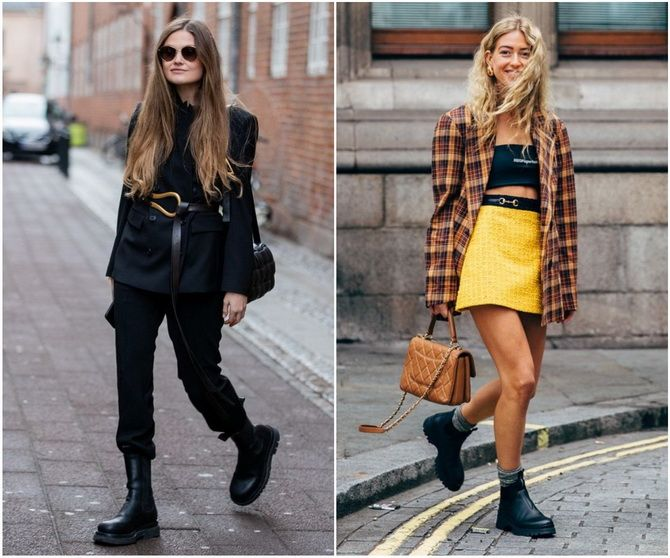 С чем носить ботинки челси – модный обувной тренд 2020-2021 16