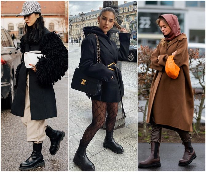 С чем носить ботинки челси – модный обувной тренд 2020-2021 18