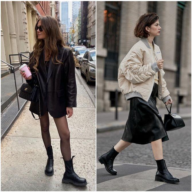 С чем носить ботинки челси – модный обувной тренд 2020-2021 19