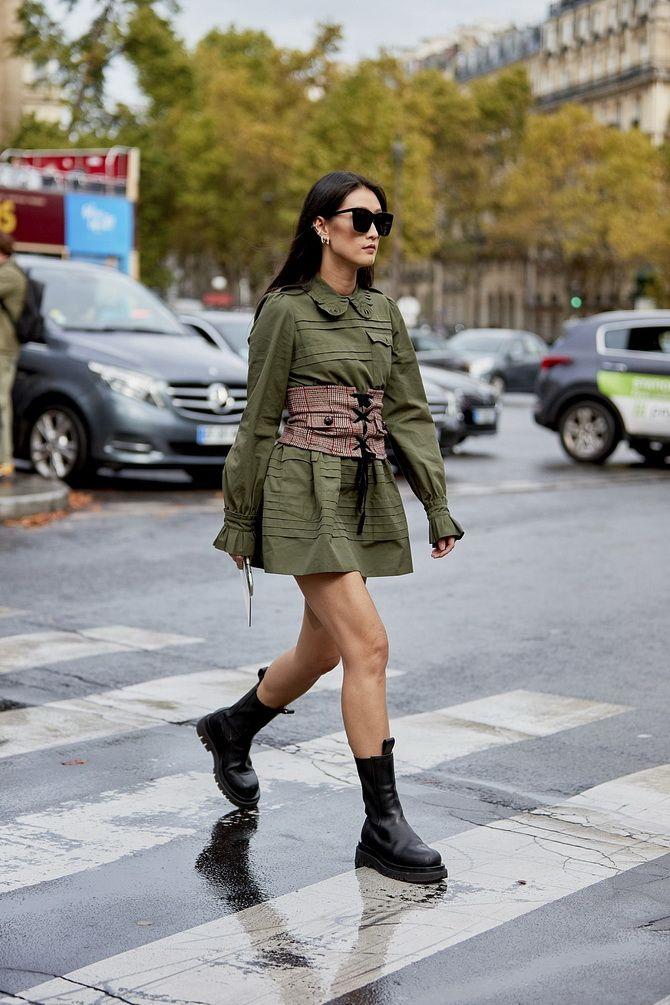 С чем носить ботинки челси – модный обувной тренд 2020-2021 24