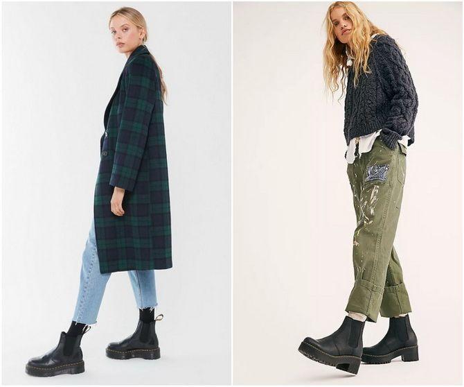 С чем носить ботинки челси – модный обувной тренд 2020-2021 25