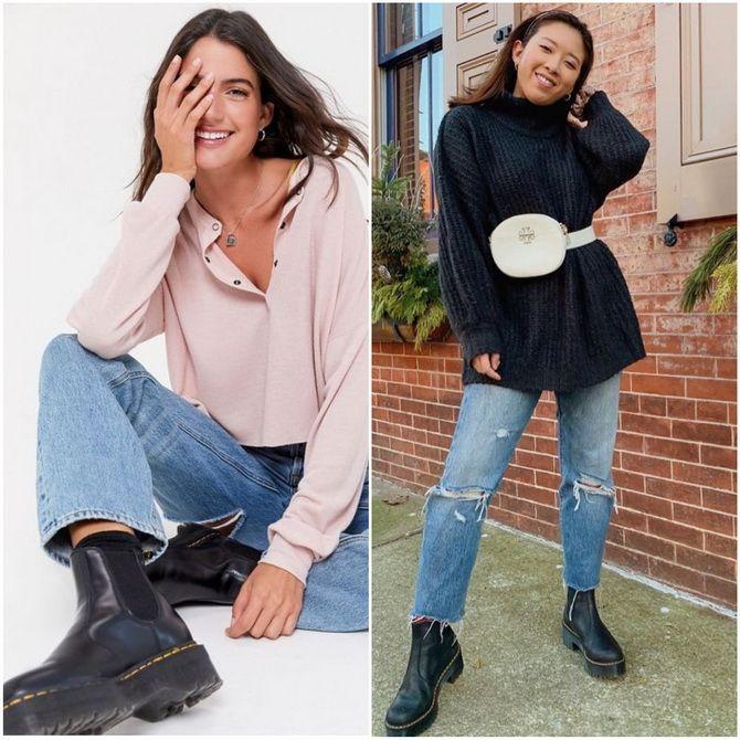 С чем носить ботинки челси – модный обувной тренд 2020-2021 27