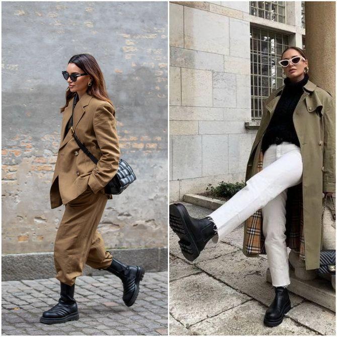 С чем носить ботинки челси – модный обувной тренд 2020-2021 28