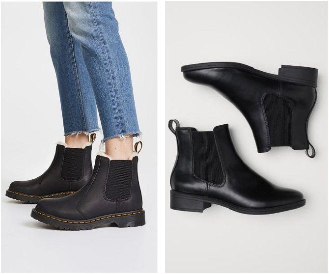С чем носить ботинки челси – модный обувной тренд 2020-2021 3