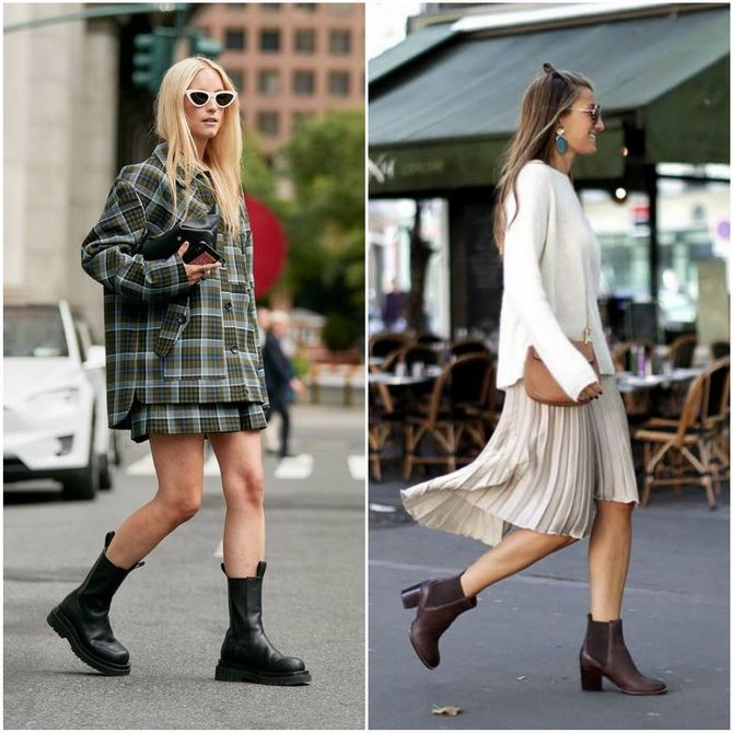 С чем носить ботинки челси – модный обувной тренд 2020-2021 30