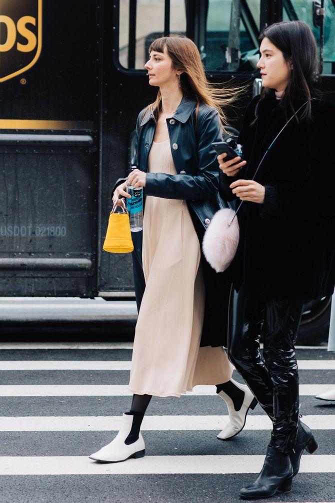 С чем носить ботинки челси – модный обувной тренд 2020-2021 32