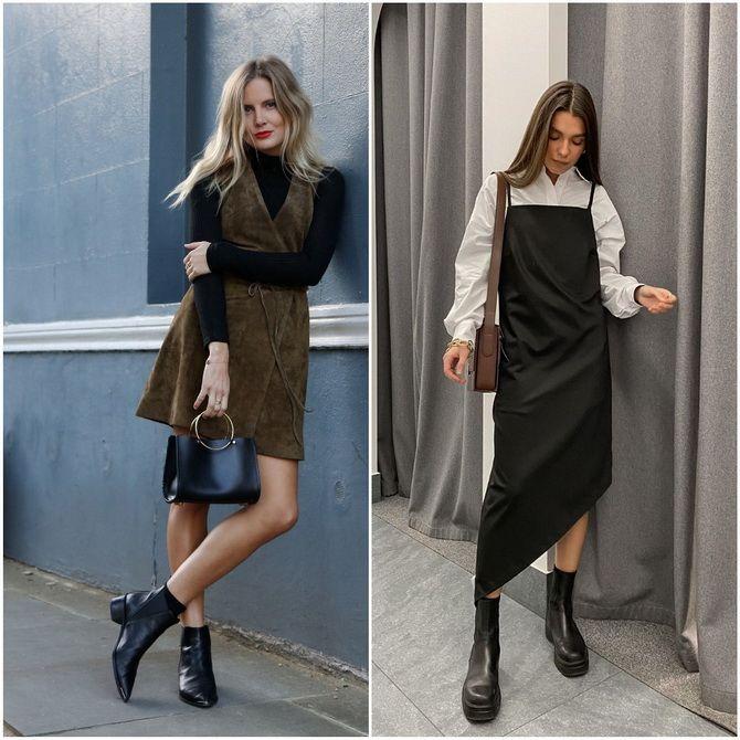 С чем носить ботинки челси – модный обувной тренд 2020-2021 33