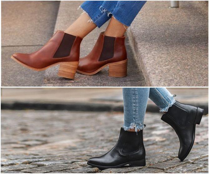 С чем носить ботинки челси – модный обувной тренд 2020-2021 5
