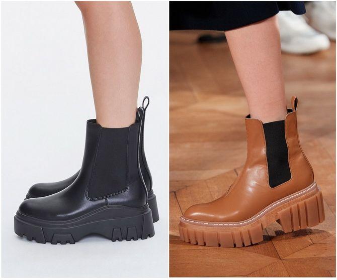 С чем носить ботинки челси – модный обувной тренд 2020-2021 7