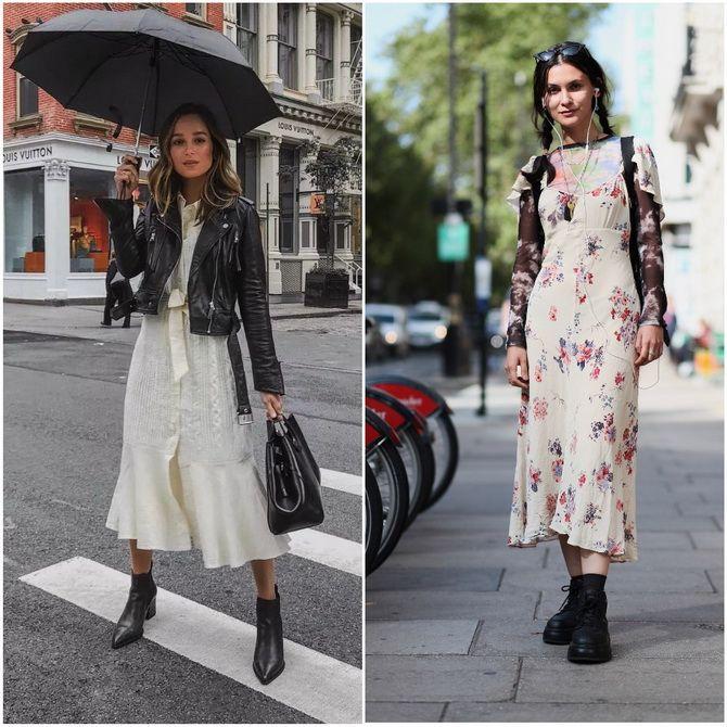 С чем носить ботильоны в 2020-2021 году: модные образы, которые легко повторить 15