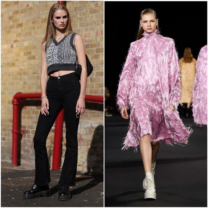 С чем носить ботильоны в 2020-2021 году: модные образы, которые легко повторить 25