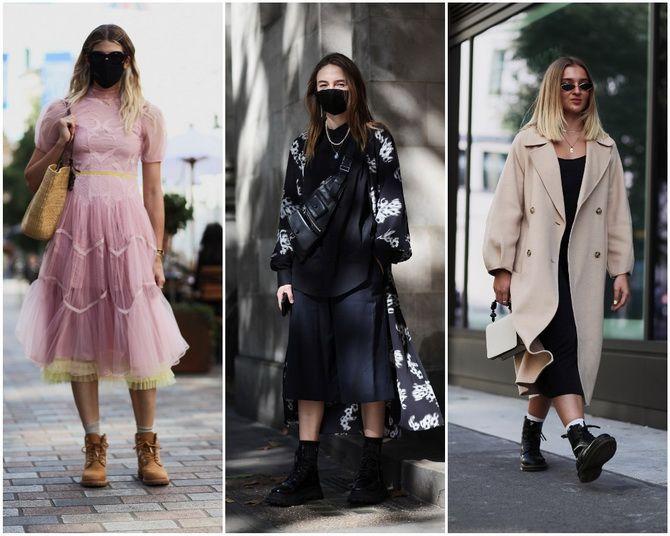 С чем носить ботильоны в 2020-2021 году: модные образы, которые легко повторить 29