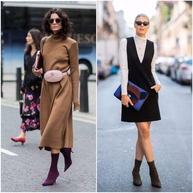 С чем носить ботильоны в 2020-2021 году: модные образы, которые легко повторить 9