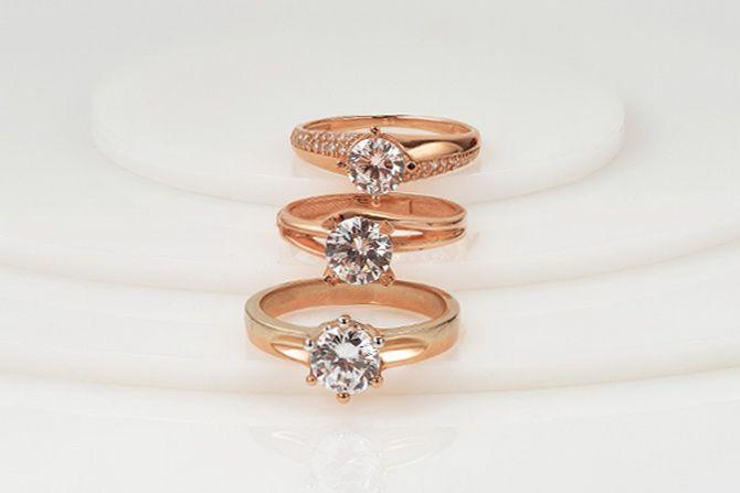 Как носить золотые кольца с бриллиантом: 5 советов на каждый день 2