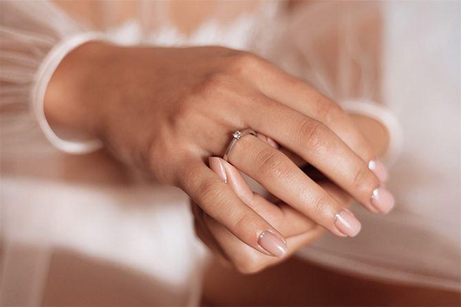 Как носить золотые кольца с бриллиантом: 5 советов на каждый день 4
