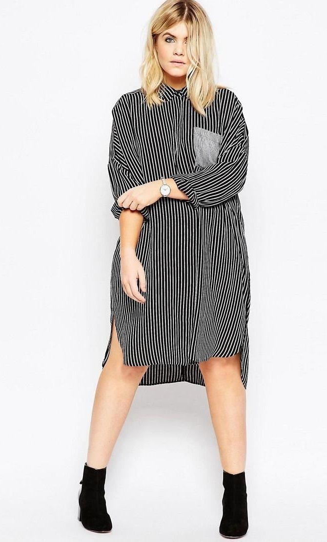 Сорочка в смужку: актуальні модні образи 9
