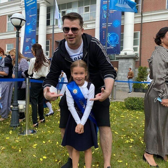 Гарік Харламов з дочкою
