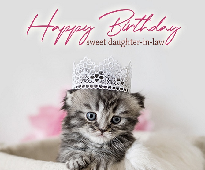 Touching Happy Birthday greetings to a daughter in verse and prose on cards 6