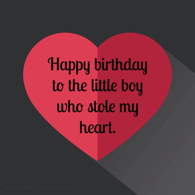 Moving birthday greetings to a son in prose, verses and cards 4