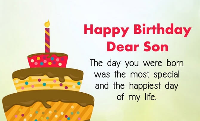 Moving birthday greetings to a son in prose, verses and cards 6
