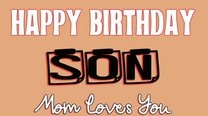 Moving birthday greetings to a son in prose, verses and cards 7
