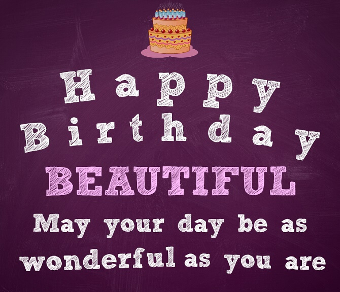Beautiful images of happy birthday wishes to a woman 14