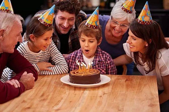 З днем народження сина – привітання своїми словами 1