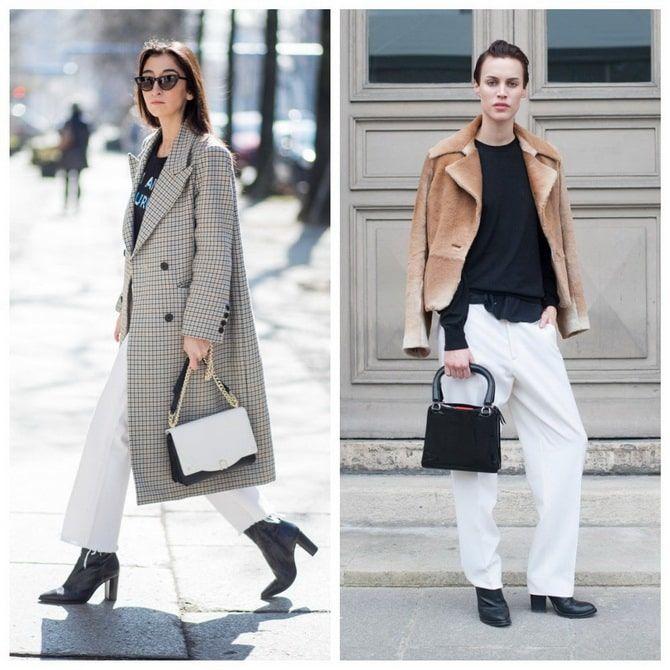 Как носить белые джинсы: создаем уютные осенние луки 31