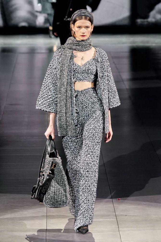 Модные вязаные кофты на осень 2020-2021 20