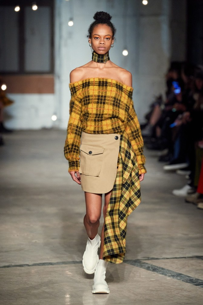 Модные вязаные кофты на осень 2020-2021 38