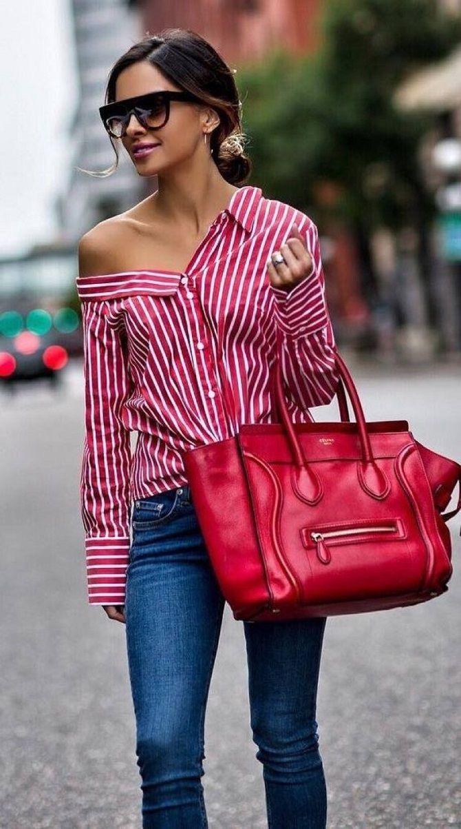 Сорочка в смужку: актуальні модні образи 11