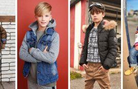 Модные куртки для мальчиков 2020-2021