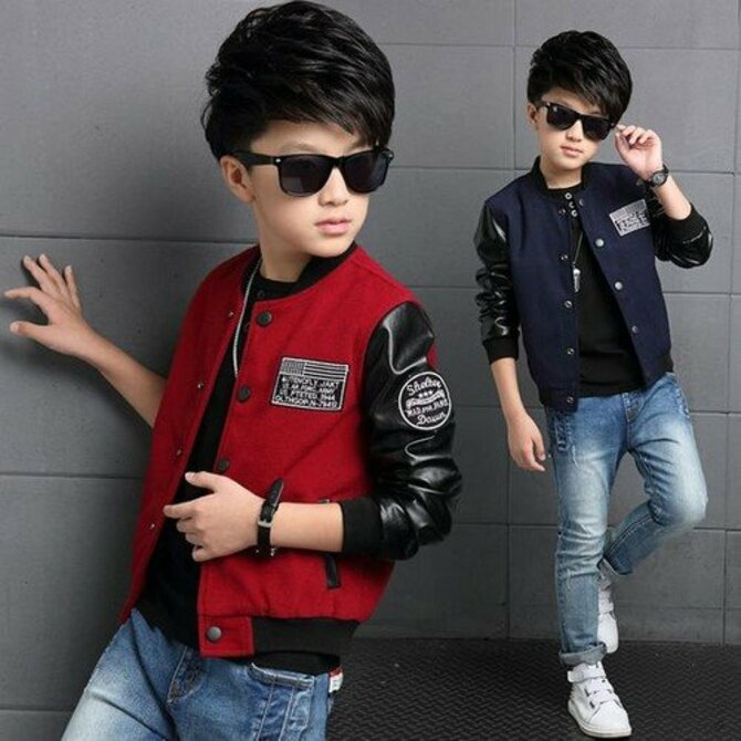 Модные куртки для мальчиков 2020-2021 10