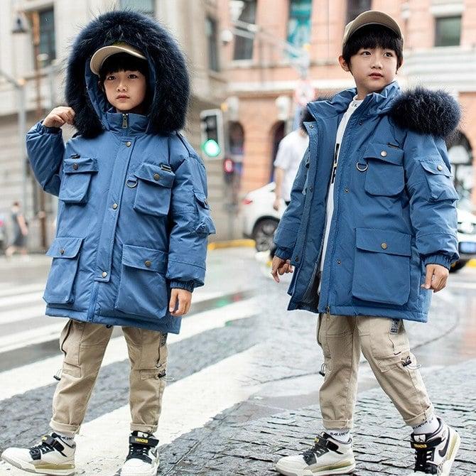 Модные куртки для мальчиков 2020-2021 24