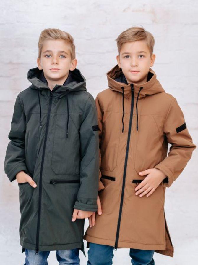 Модные куртки для мальчиков 2020-2021 25