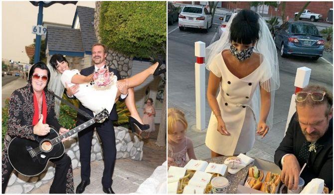 Незвичайне весілля Лілі Аллен у Лас-Вегасі: несправжній Елвіс і бургери на церемонії 3