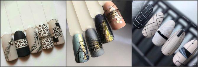 Павутинка на нігтях: ефектні дизайни 2020–2021 1