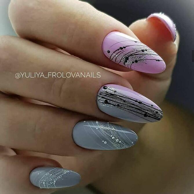 Павутинка на нігтях: ефектні дизайни 2020–2021 17