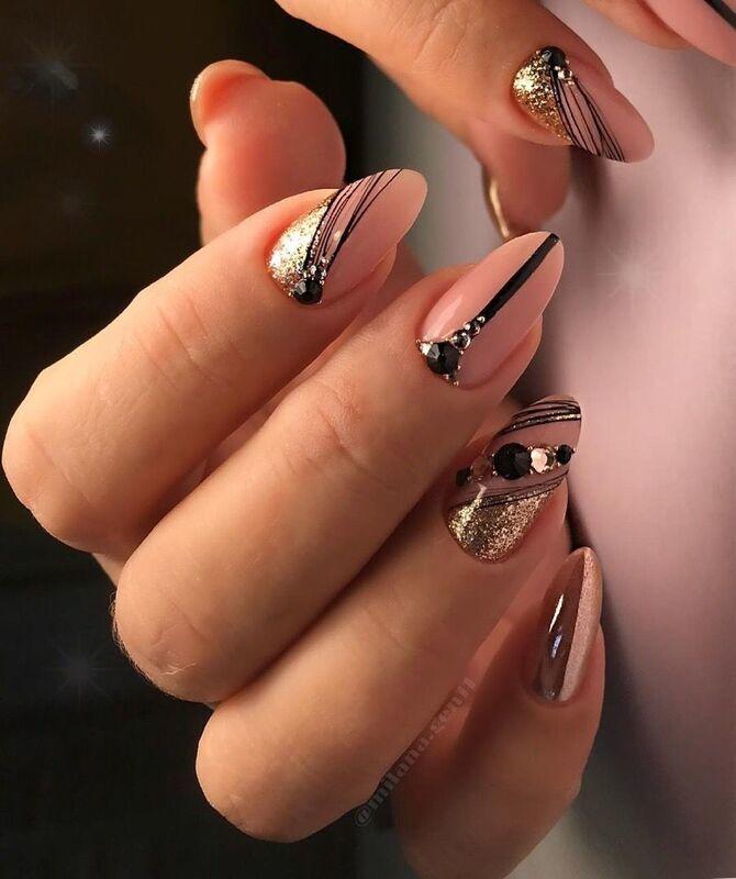 Павутинка на нігтях: ефектні дизайни 2020–2021 19
