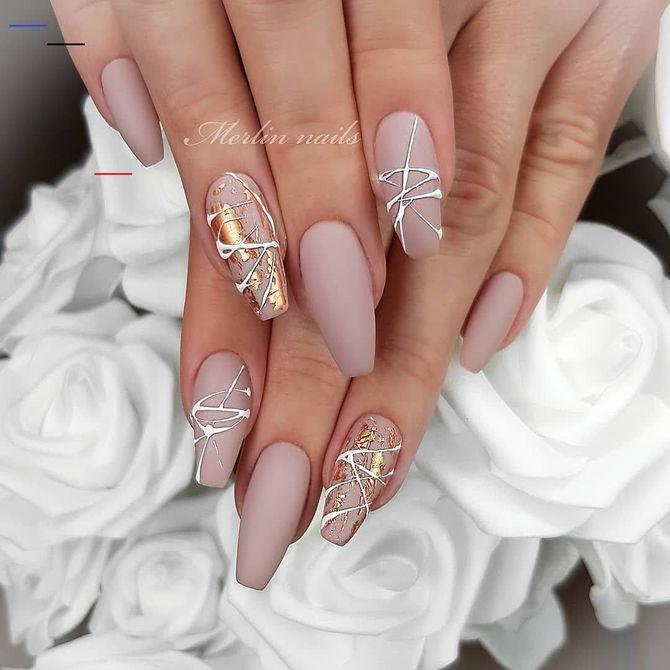 Павутинка на нігтях: ефектні дизайни 2020–2021 21