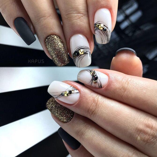 Павутинка на нігтях: ефектні дизайни 2020–2021 23