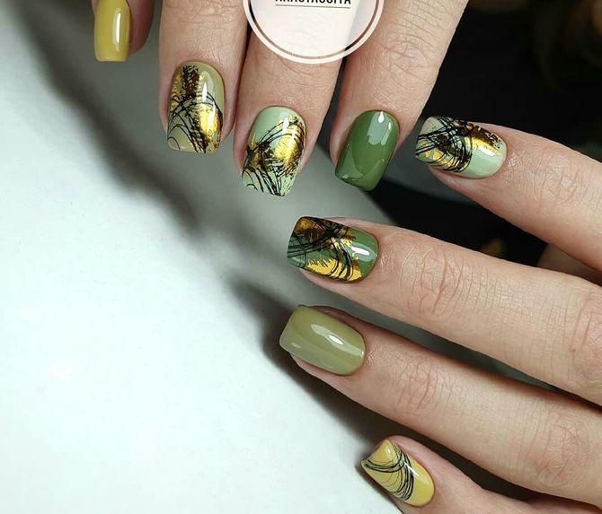 Павутинка на нігтях: ефектні дизайни 2020–2021 24