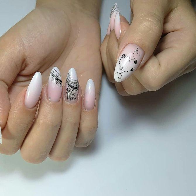 Павутинка на нігтях: ефектні дизайни 2020–2021 30